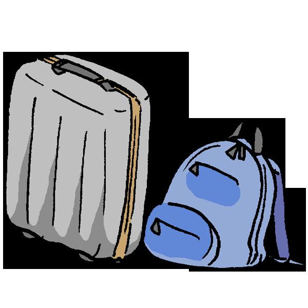 かばん2のイラスト