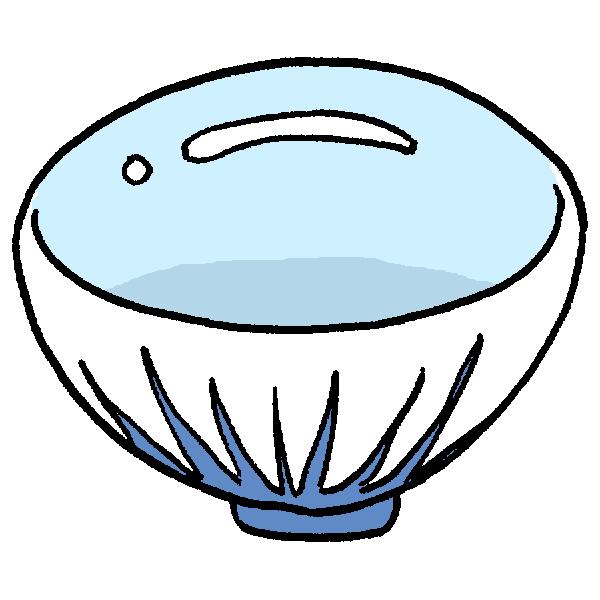 茶碗のイラスト