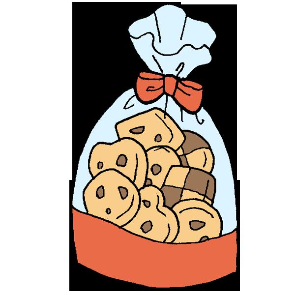 クッキー袋のイラスト