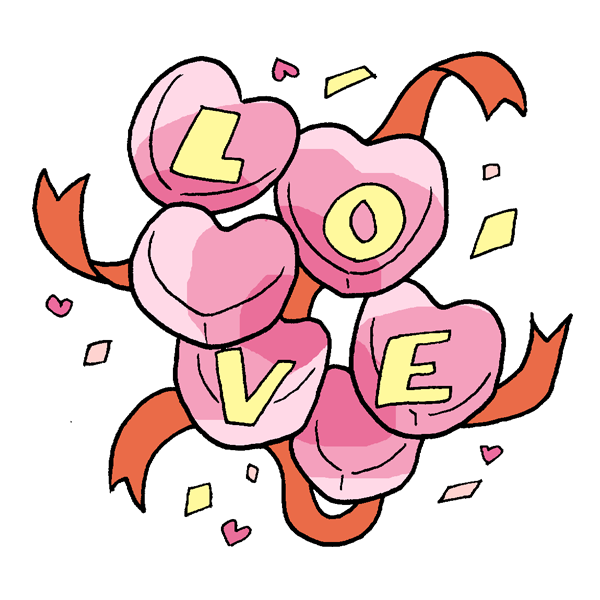 LOVEのイラスト