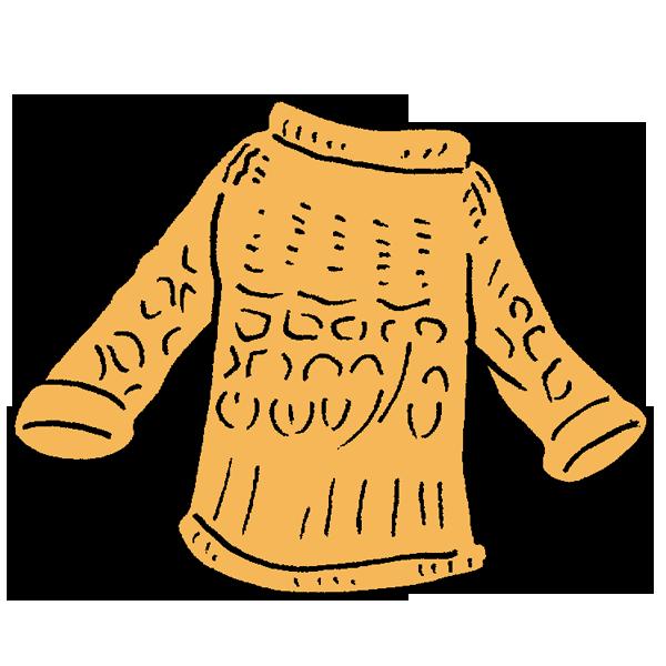 セーターのイラスト