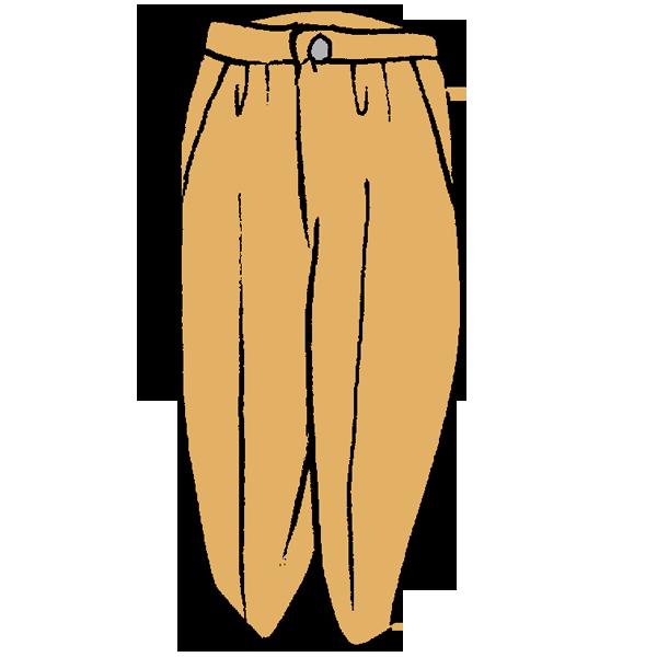 パンツのイラスト