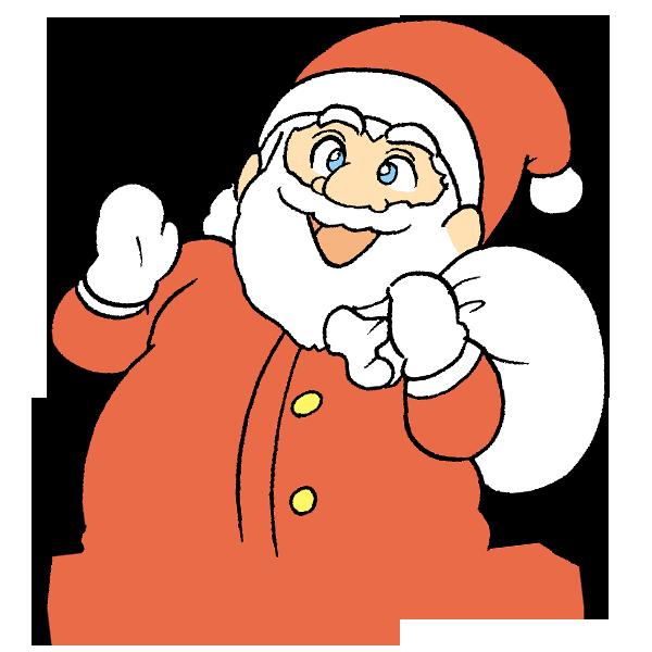 サンタさんのイラスト
