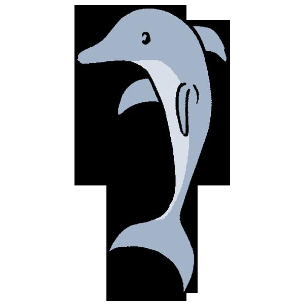 イルカ1のイラスト