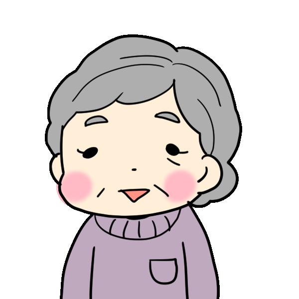 おばあちゃんのイラスト