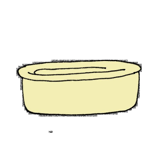 風呂桶のイラスト