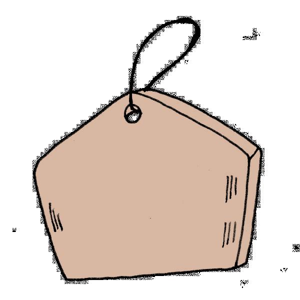 絵馬のイラスト