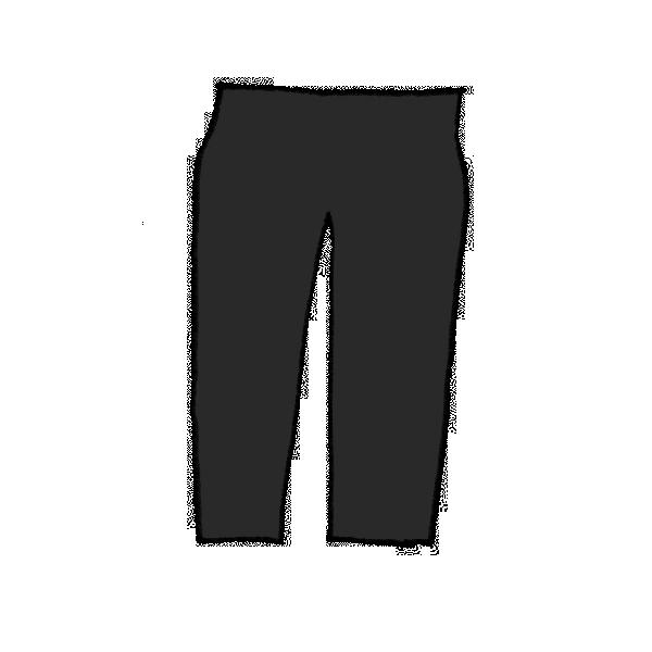 ズボンのイラスト