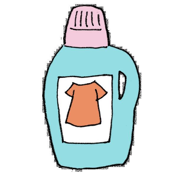 柔軟剤のイラスト