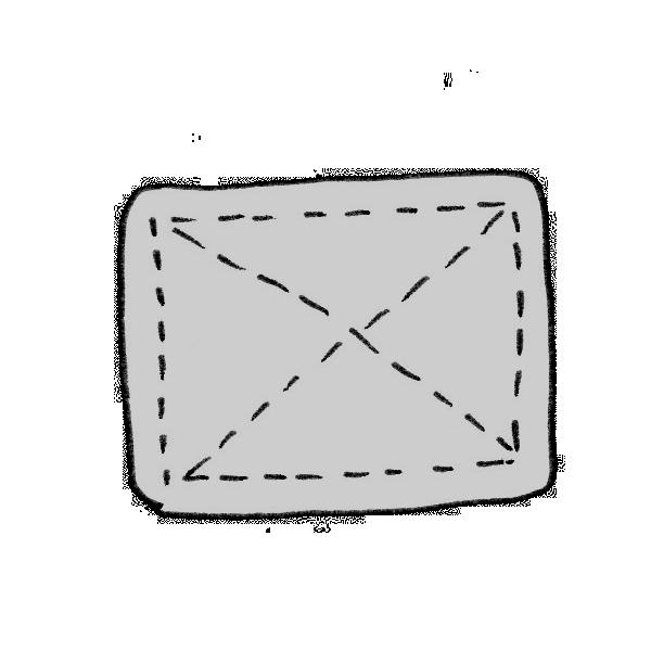 雑巾のイラスト