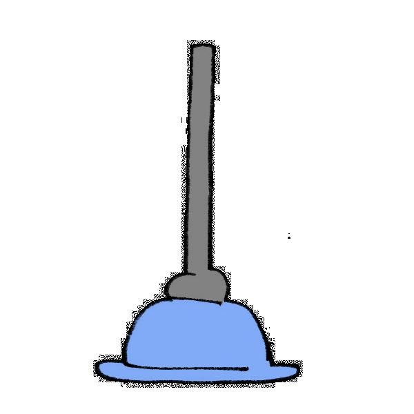 掃除用具のイラスト
