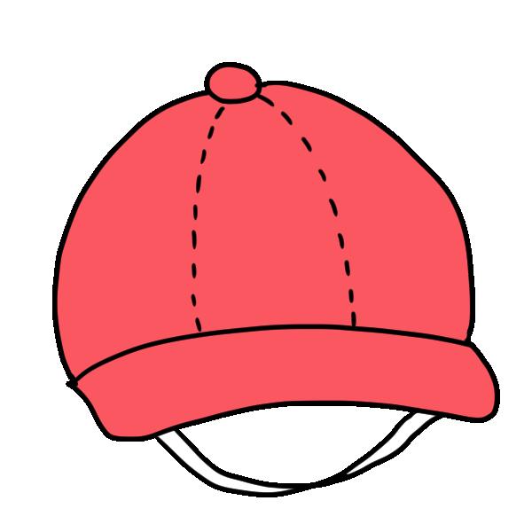 赤い帽子のイラスト