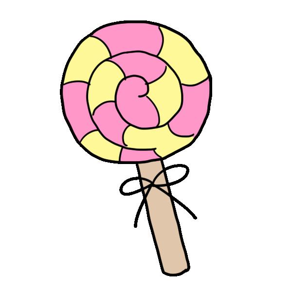 ペロペロキャンディのイラスト