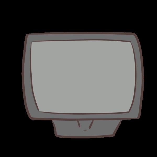 デスクトップのイラスト