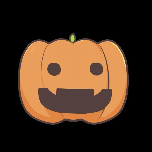 かぼちゃ1のイラスト