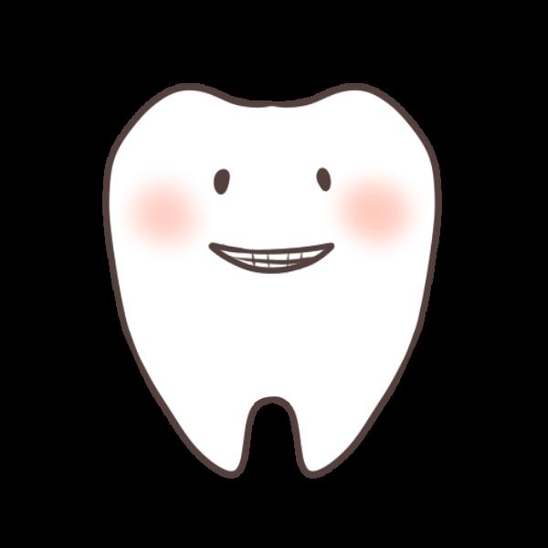 歯のキャラクターのイラスト