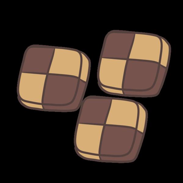 アイスボックスクッキーのイラスト