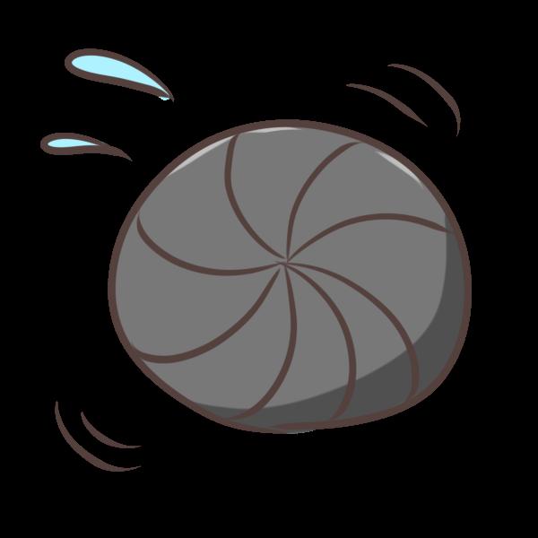 丸まるダンゴ虫のイラスト