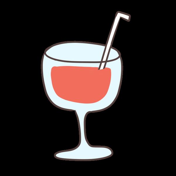 フルーツジュースのイラスト