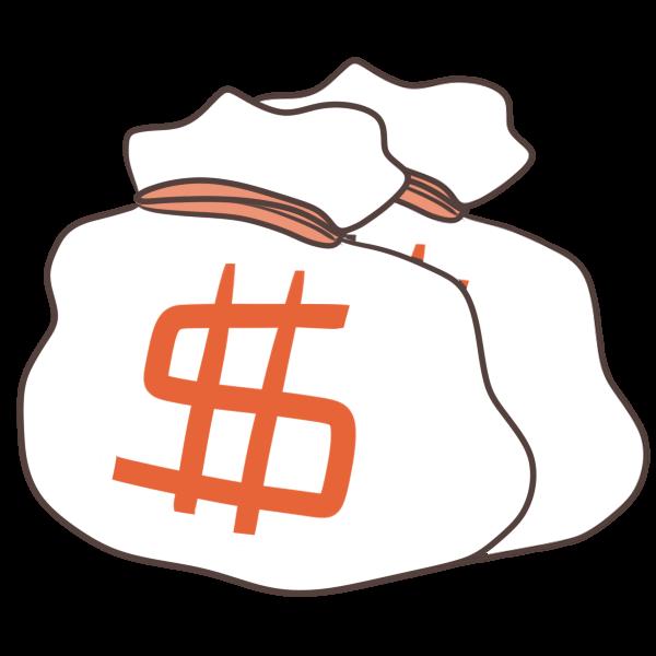 ドルのイラスト