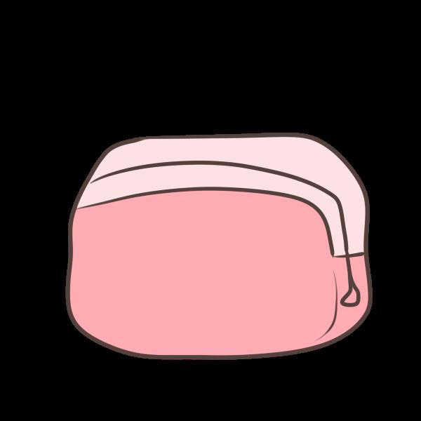 化粧ポーチのイラスト