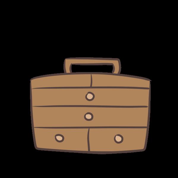 手芸BOXのイラスト