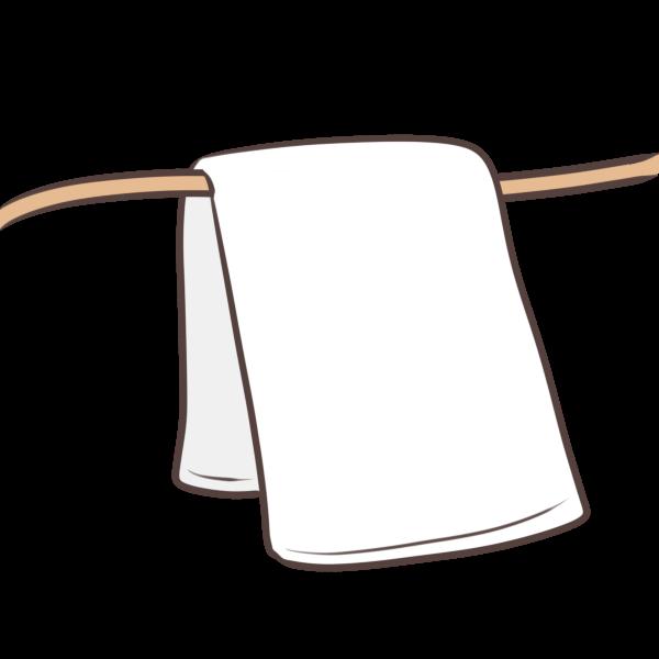 バスタオルのイラスト