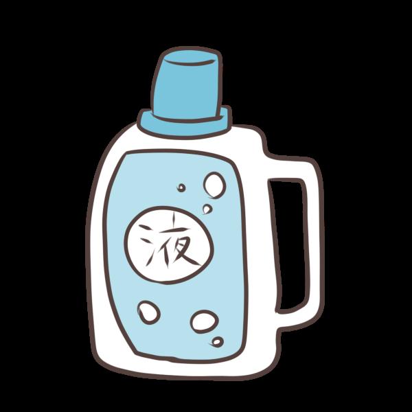 液体洗剤のイラスト