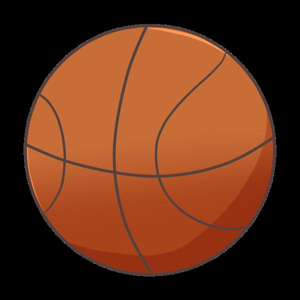 バスケットボールのイラスト かわいいフリー素材が無料のイラストレイン