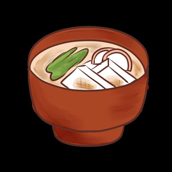 雑煮のイラスト