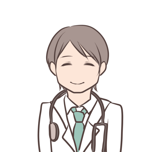 優しそうな医者のイラスト