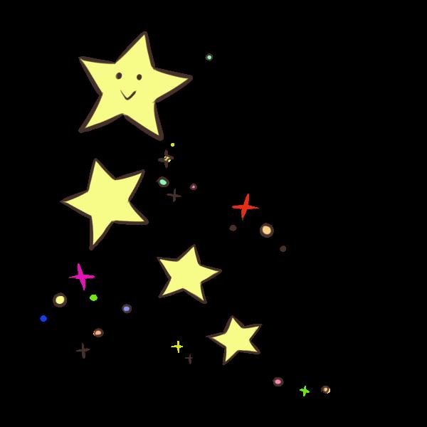 お星様のイラスト
