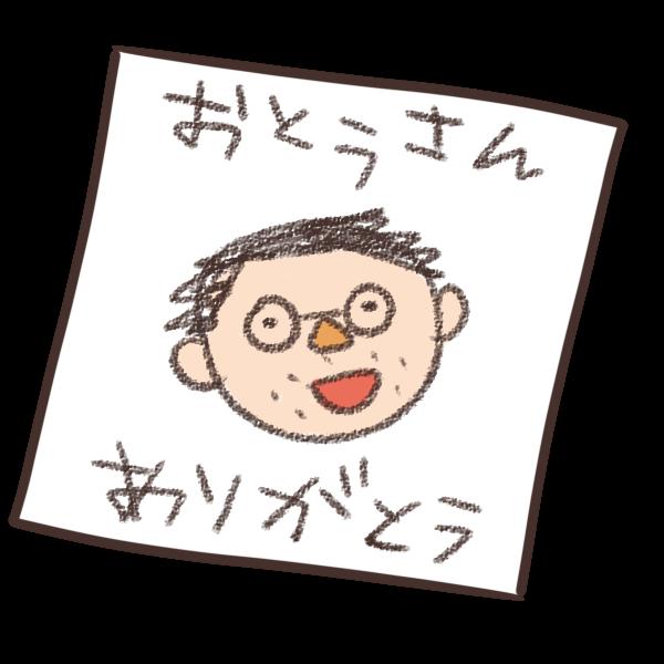 似顔絵のイラスト