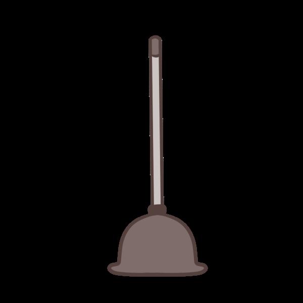トイレ掃除道具のイラスト