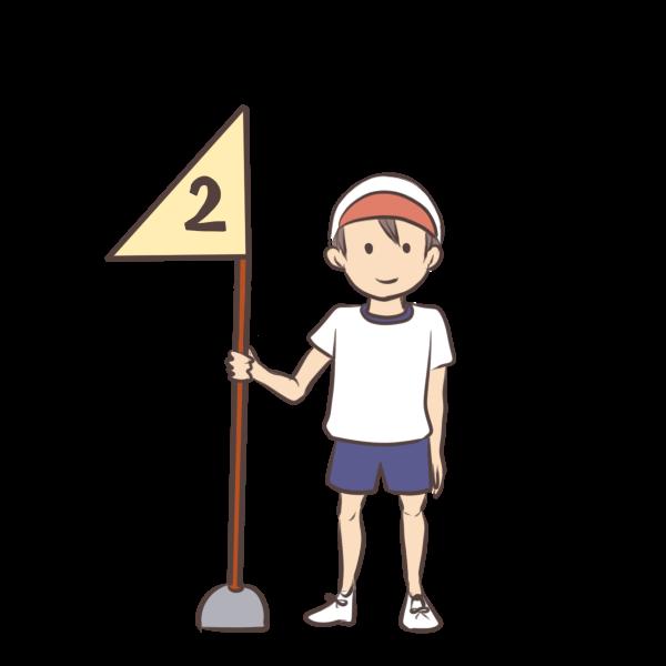 2等男の子のイラスト