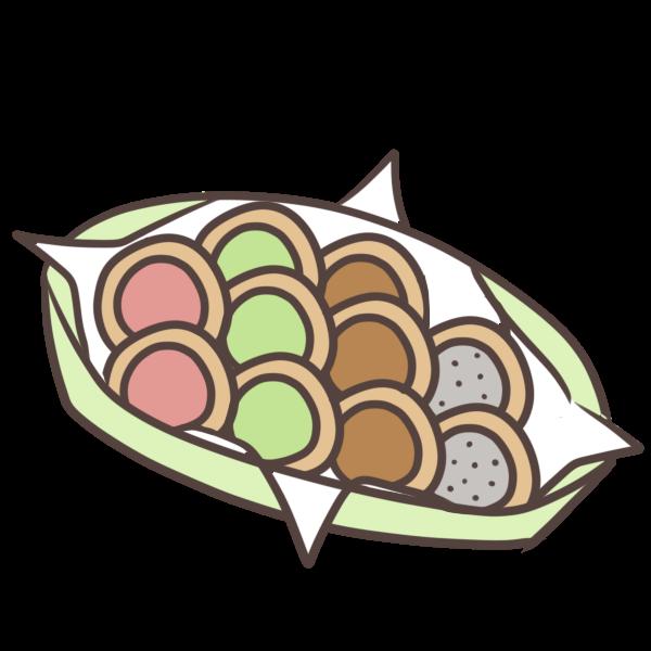 色々なクッキーのイラスト