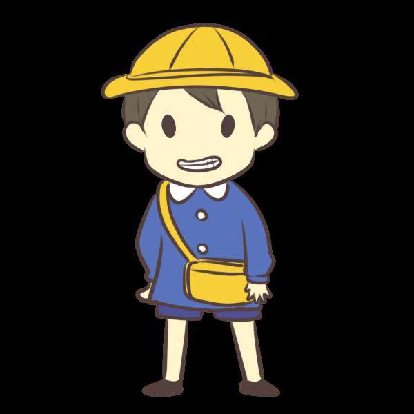 幼稚園児(男)のイラスト