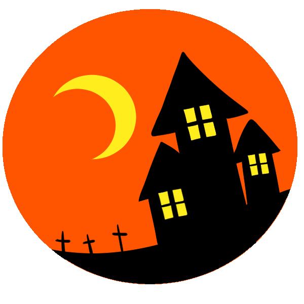 家と墓のイラスト