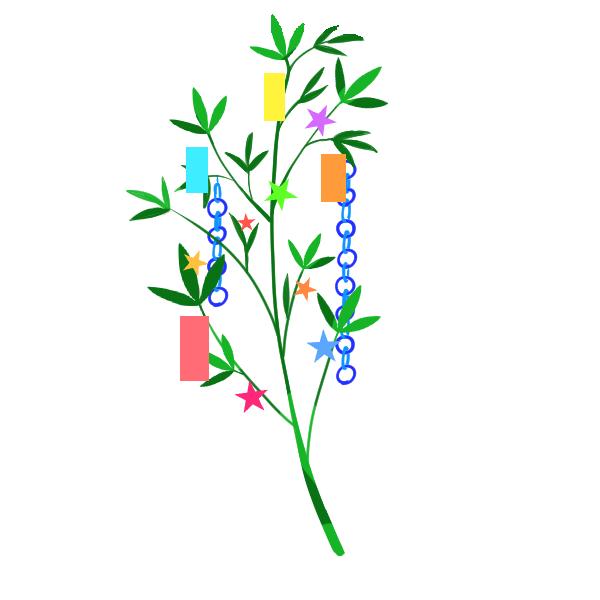 笹のイラスト