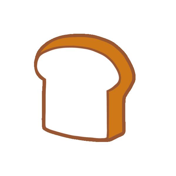 食パンのイラスト
