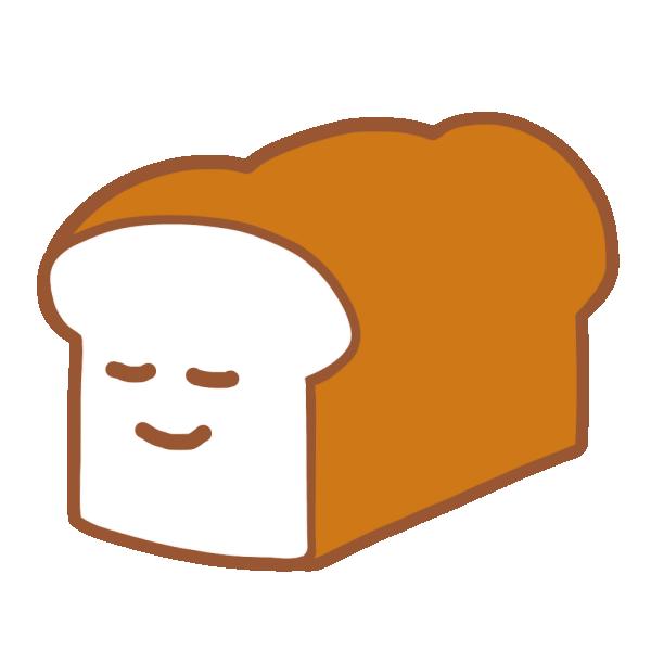 パンのキャラクターのイラスト