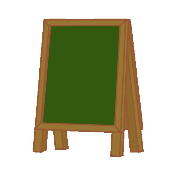 黒板ボードのイラスト