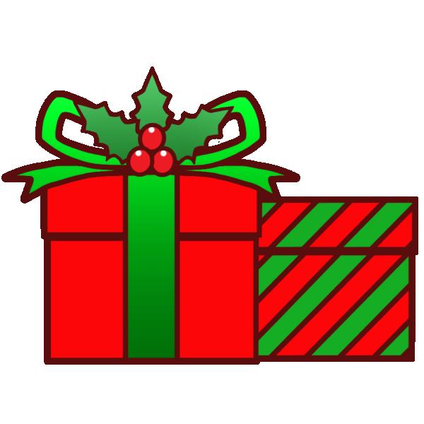 クリスマスプレゼントのイラスト