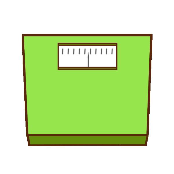 体重計のイラスト