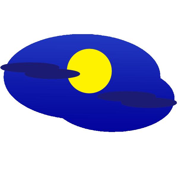 満月のイラスト