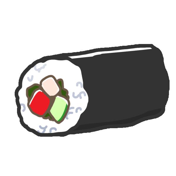 恵方巻のイラスト