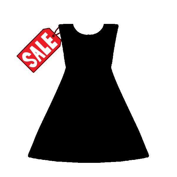 セール品のワンピースのイラスト