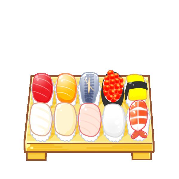 寿司のイラスト