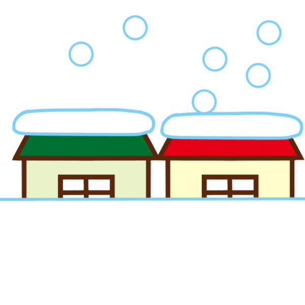 大雪のイラスト