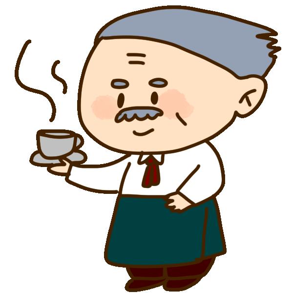 コーヒーマスターのイラスト